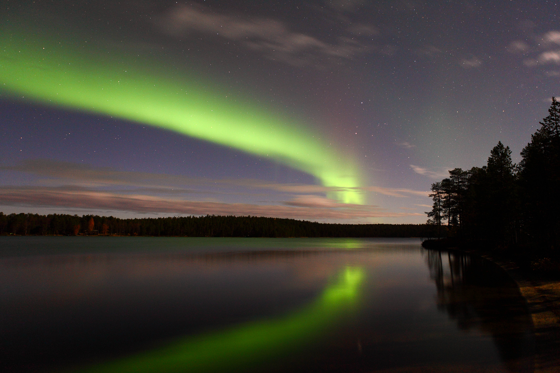 The northern lights have already arrived in Finland!