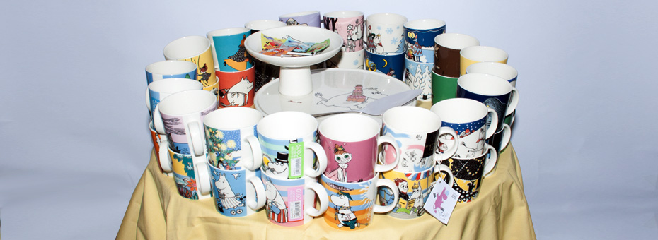 Moomin Mug Exhibition 2014