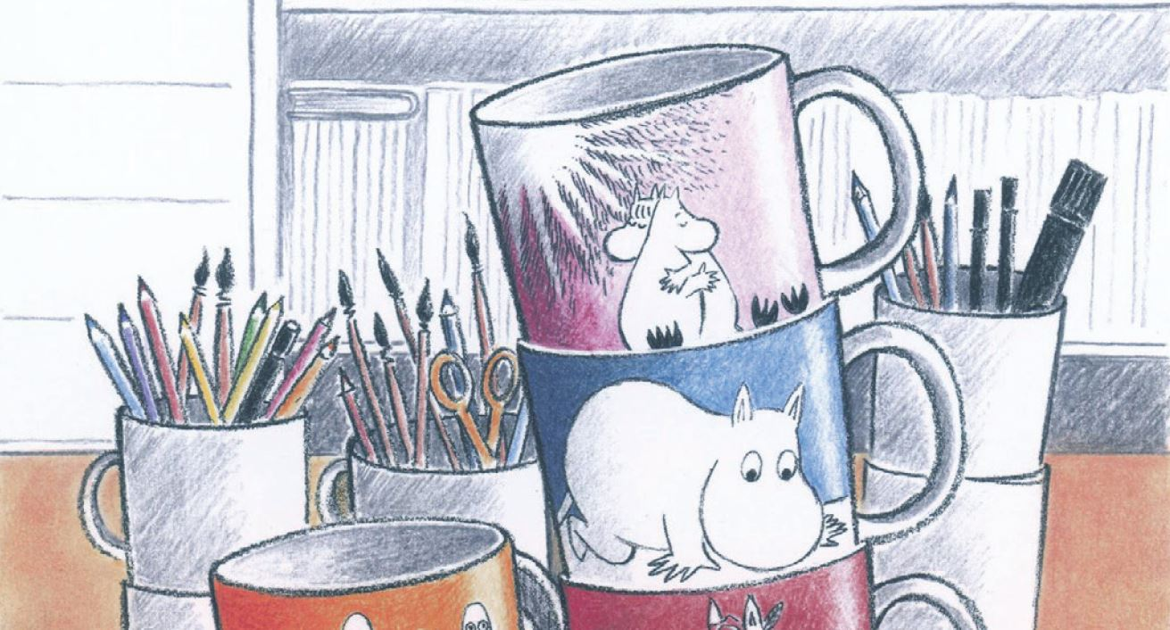 Moomin mug Exhibition Official Press Release