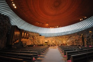 The Rock Church  (Temppeliaukio) / Helsinki